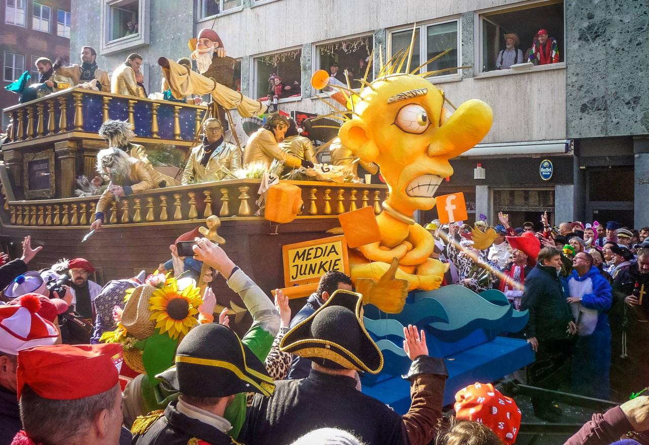 На кёльнском карнавале