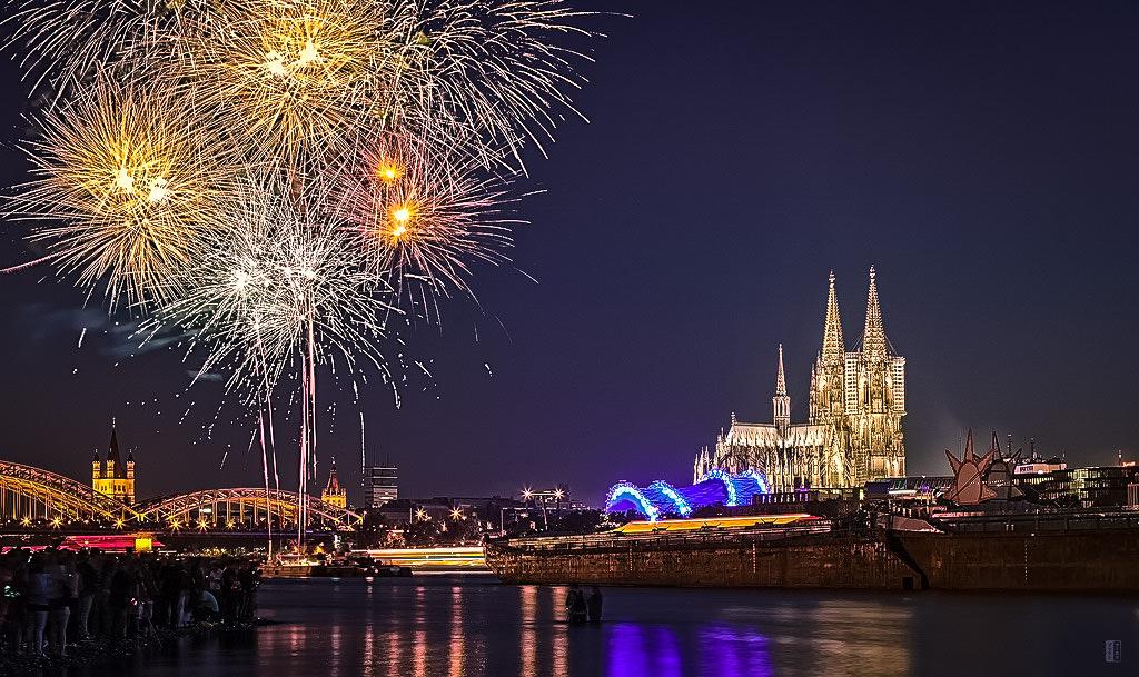 Фестиваль фейерверков Кёльне