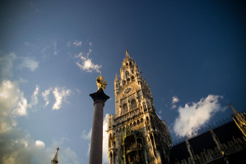 Мюнхен Marienplatz