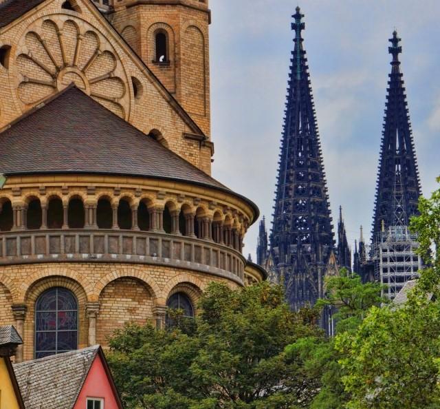 Большой Святой Мартин(Groß St. Martin Kirche)