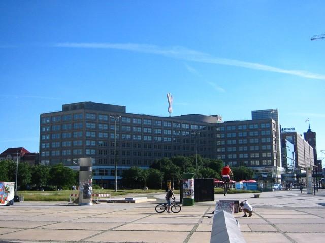 Площадь Александерплац (Alexanderplatz)
