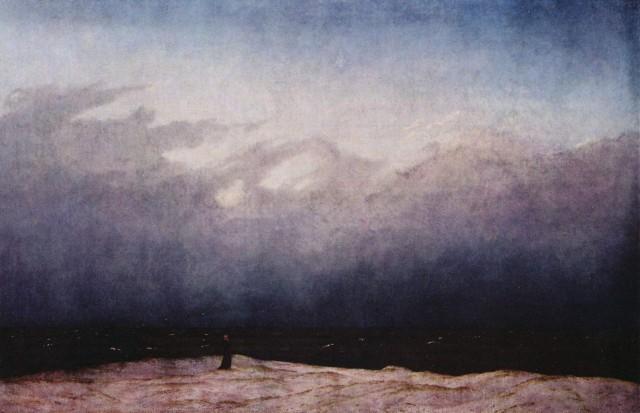 «Монах у моря» Каспара Давида Фридриха (1808—1809 гг.)