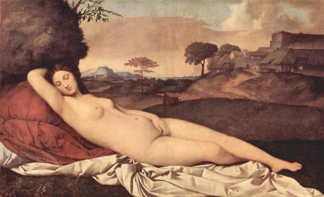 «Спящая Венера» Джорджоне