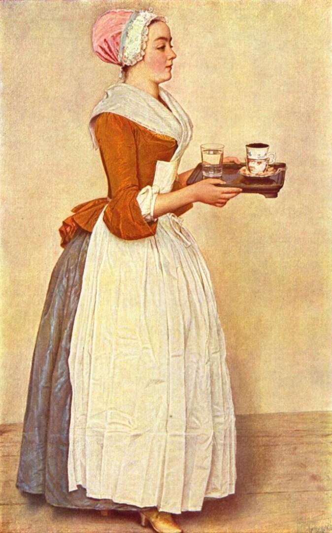 «Шоколадница» Жан-Этьен Лиотар.