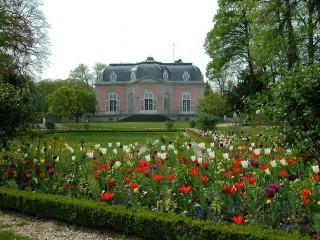 Дворец и парк Бенрат в Дюссельдорфе