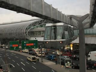 Воздушный трамвай в Дюссельдорфе (аэропорт — железнодорожная станция)
