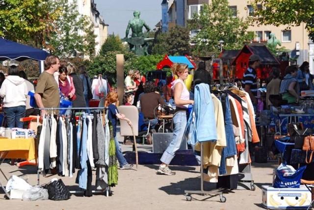 Блошиный рынок Дюссельдорфа