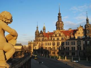 Грюнес Гевёльбе в Дрездене.