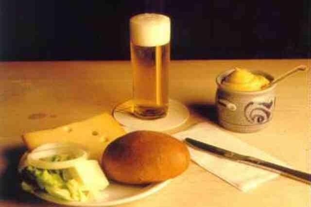 Блюдо Halve Hahn