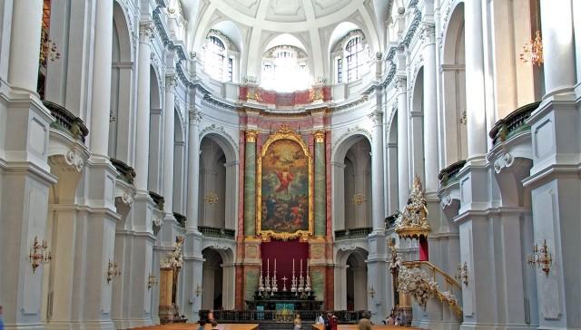 Кафедральный Католический собор Св. Троицы (Katholische Hofkirche)