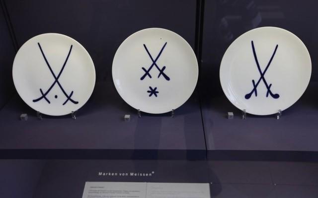 Скрещенные синие мечи — эмблема саксонского фарфора Meissen