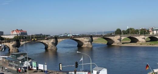 Мост Августа (Аugustusbrücke)