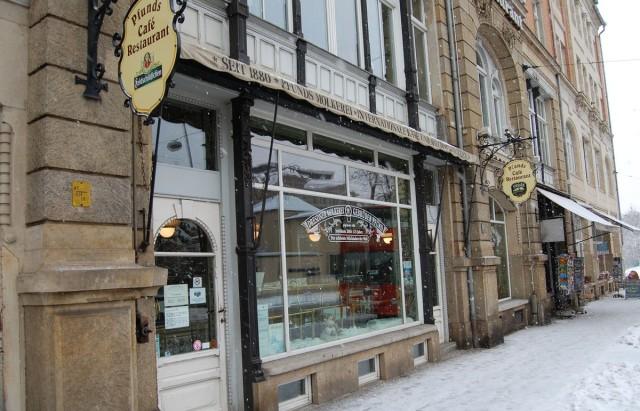 Молочный магазин Пфунда (нем. Pfunds Molkerei) в Дрездене