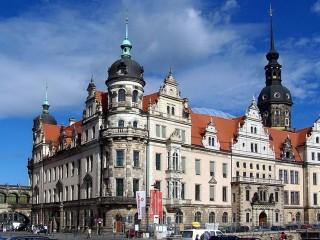 Резиденцшлосс в Дрездене