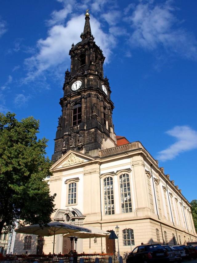 Церковь Трех Волхвов в Дрездене (Dreikönigskirche)