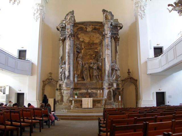 Алтарь церкви Трех Волхвов