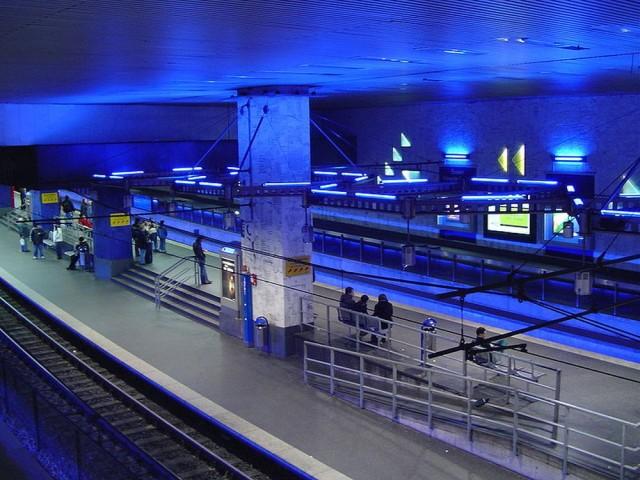 Главный железнодорожный вокзала (Essen Hauptbahnhof)