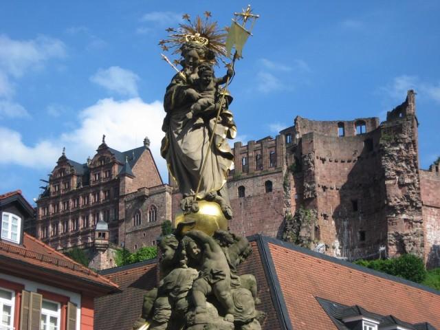 Гейдельбергский замок (Heidelberg Schloss)