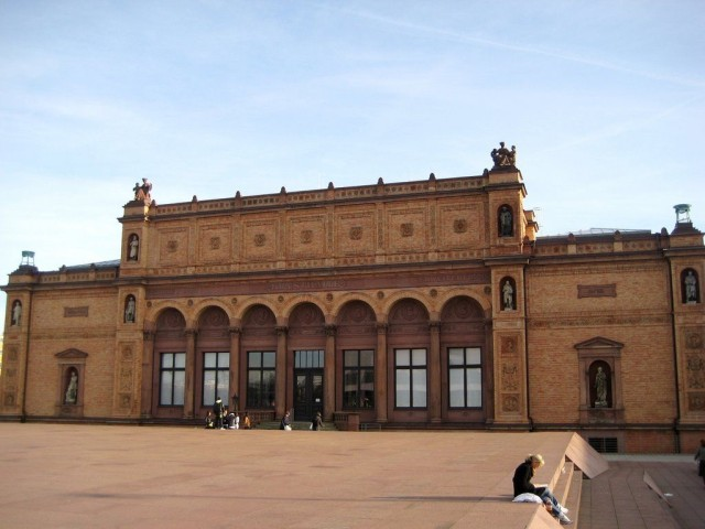 Художественный музей Кунстхалле (Kunsthalle) в Гамбурге