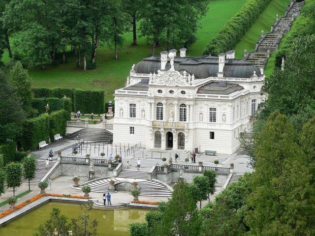 Дворец Линдерхоф (Schloss Linderhof)