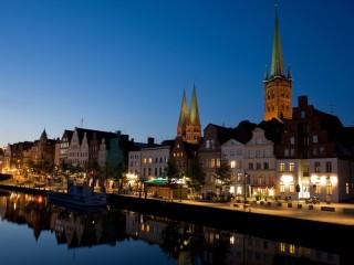 Любек — столица Ганзийского союза.