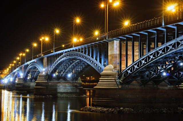 Мост Theodor Heuss Rhine