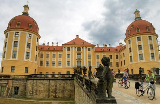 Замок Морицбург (Schloss Moritzburg)