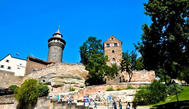 Нюрнбергский замок- Бург -(Nürnberger Burg)