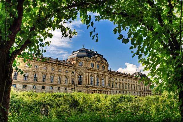Вюрцбургская резиденция (Residenz in Würzburg)