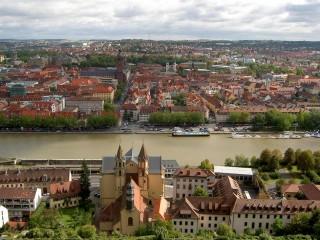 Вюрцбург – вольный город в стиле барокко на Майне