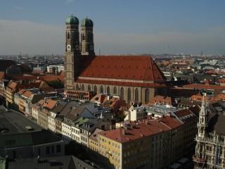 Фрауэнкирхе — кафедральный собор Мюнхена