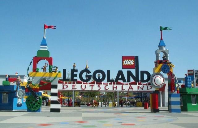 Леголенд (Legoland) в Гюнцбурге