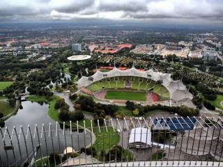 Олимпийский парк и музей БМВ в Мюнхене