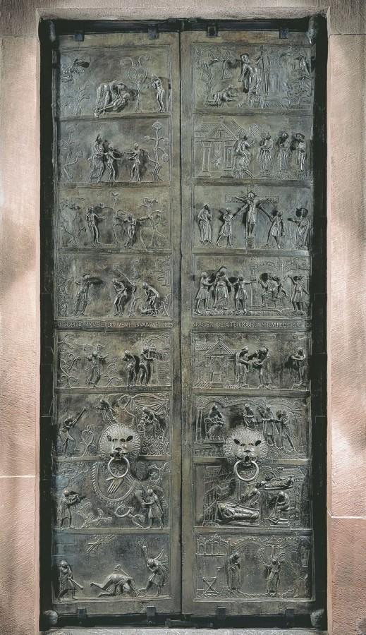 Бронзовые врата (Bernwardstür)