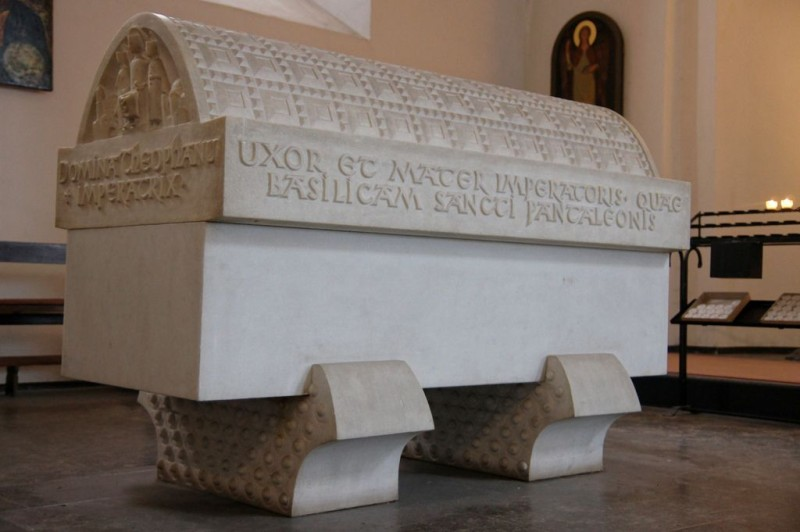 Саркофаг императрицы Феофано