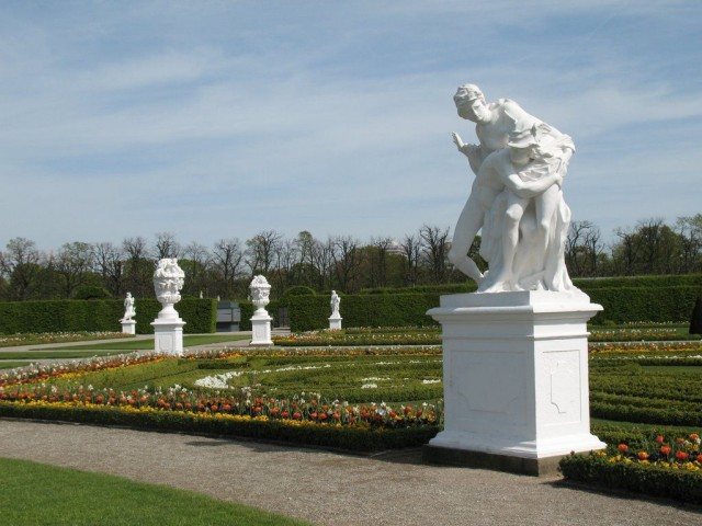 Большой сад в районе Ганновера Херрхаузен (der Große Garten in Herrenhausen)