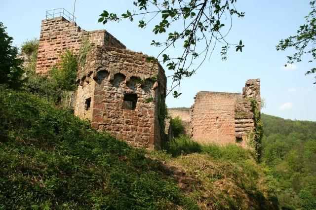 Замок Франкенштейн (Burg Frankenstein)