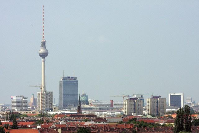 Берлинская телебашня (Berliner Fernsehturm)