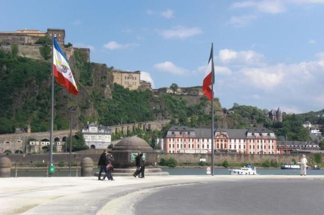 Крепость Эренбрайтштайн (Festung Ehrenbreitstein)