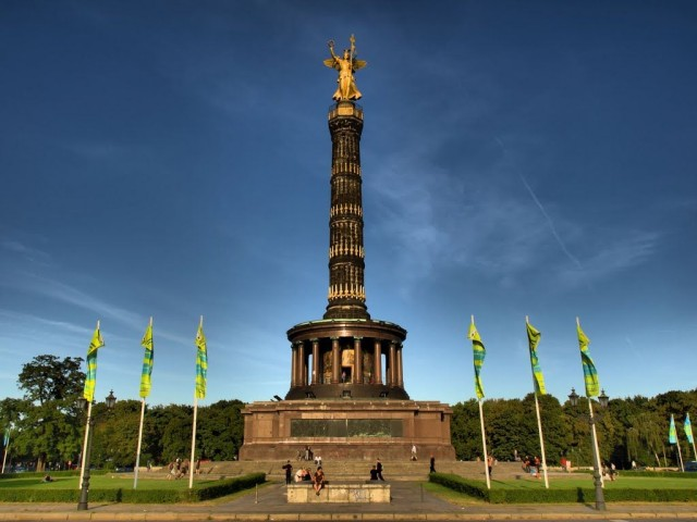 Колонна Победы (Siegessäule) в Берлине