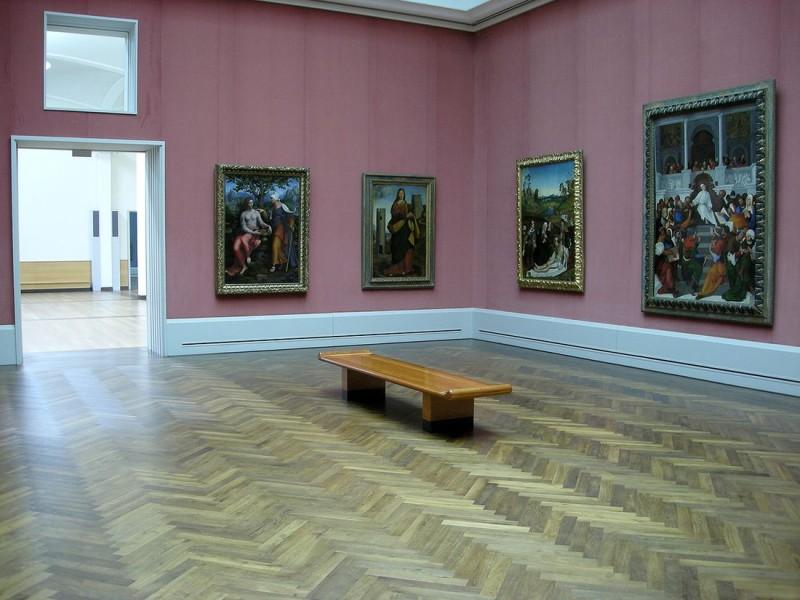 Зал итальянской живописи