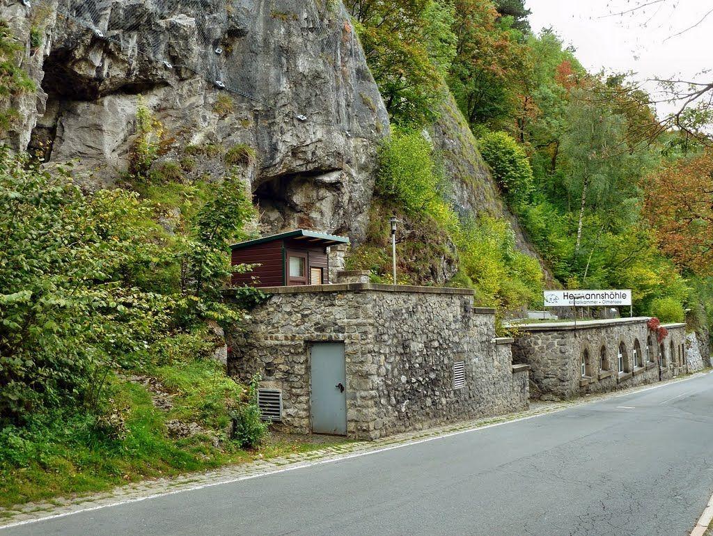 Пещера германа hermannshöhle