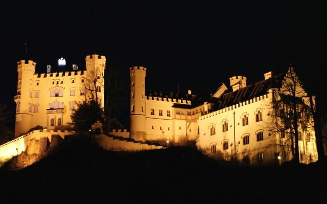 Замок Хоэншвангау (Schloß Hohenschwangau)