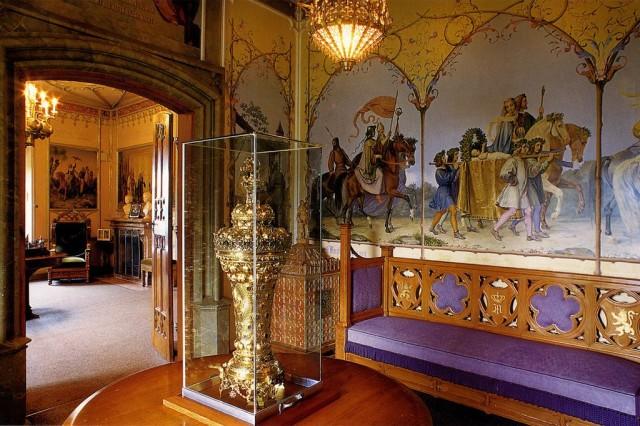 Интерьер замка Хоэншвангау