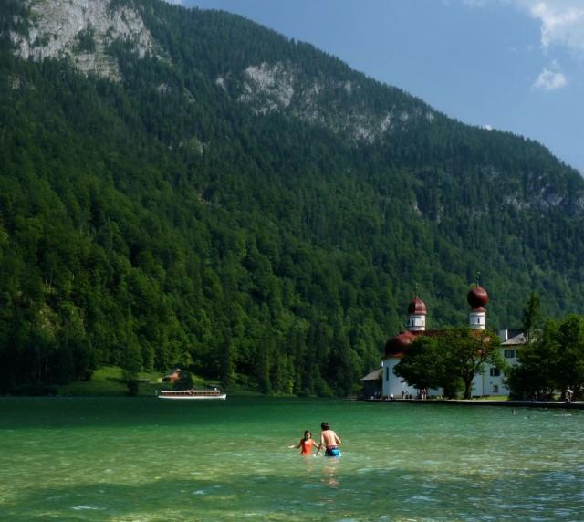 Озеро Кёнигзее (Königssee)