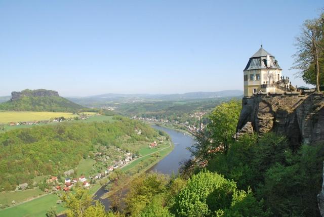 Крепость Кёнигштайн (Festung Königstein)