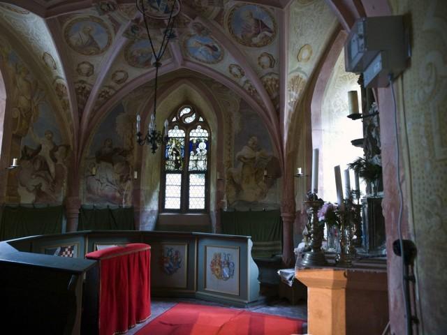 Замок Меспелбрунн (Schloss Mespelbrunn)