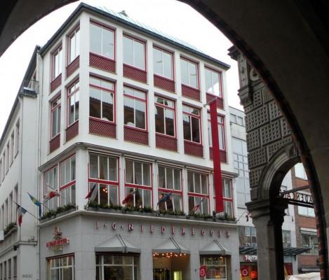 Дом марципана Niederegger