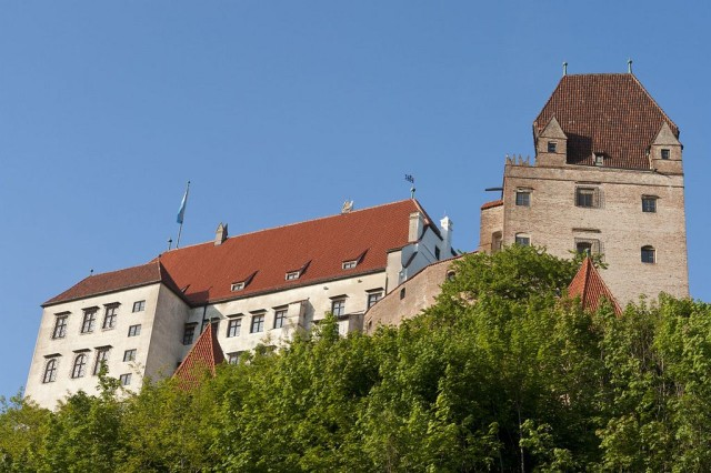 Замок Траусниц (Burg Trausnitz)