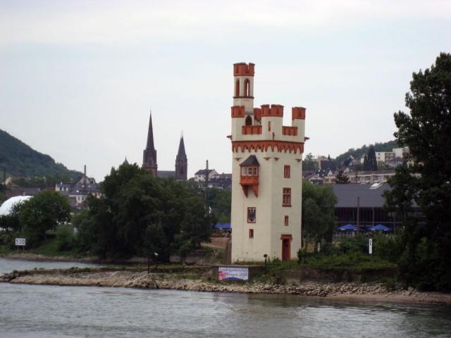 Башня Мойзетурм (Mäuseturm)
